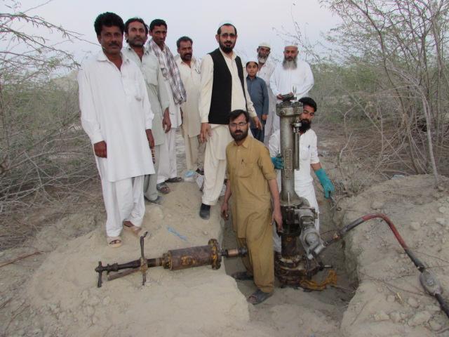 Inauguration of the gas pipeline in Ghatti Dor, Gwadar