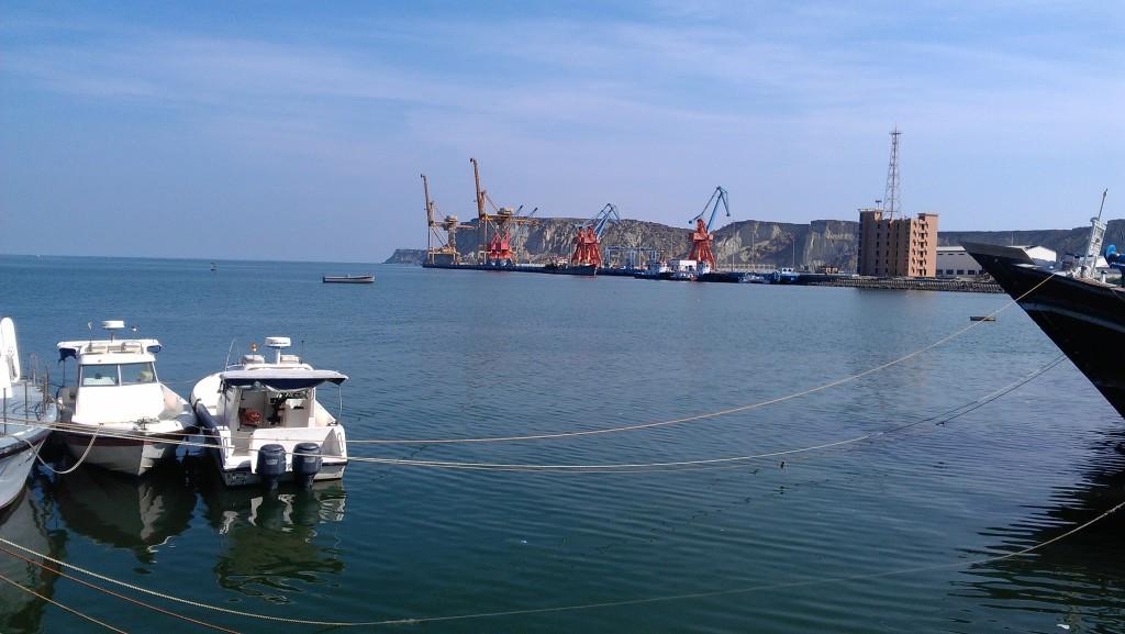 A view of Gwadar port
