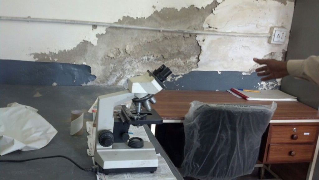 The laboratory at Pasni RHC