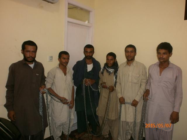 The Yemeni citizens recovered during the raid