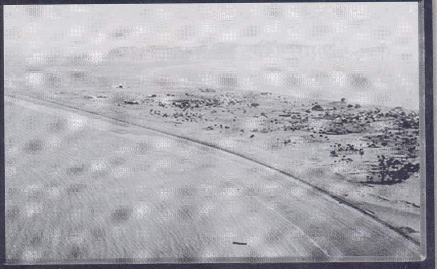 A view of the sparse population in Gwadar in 1950s
