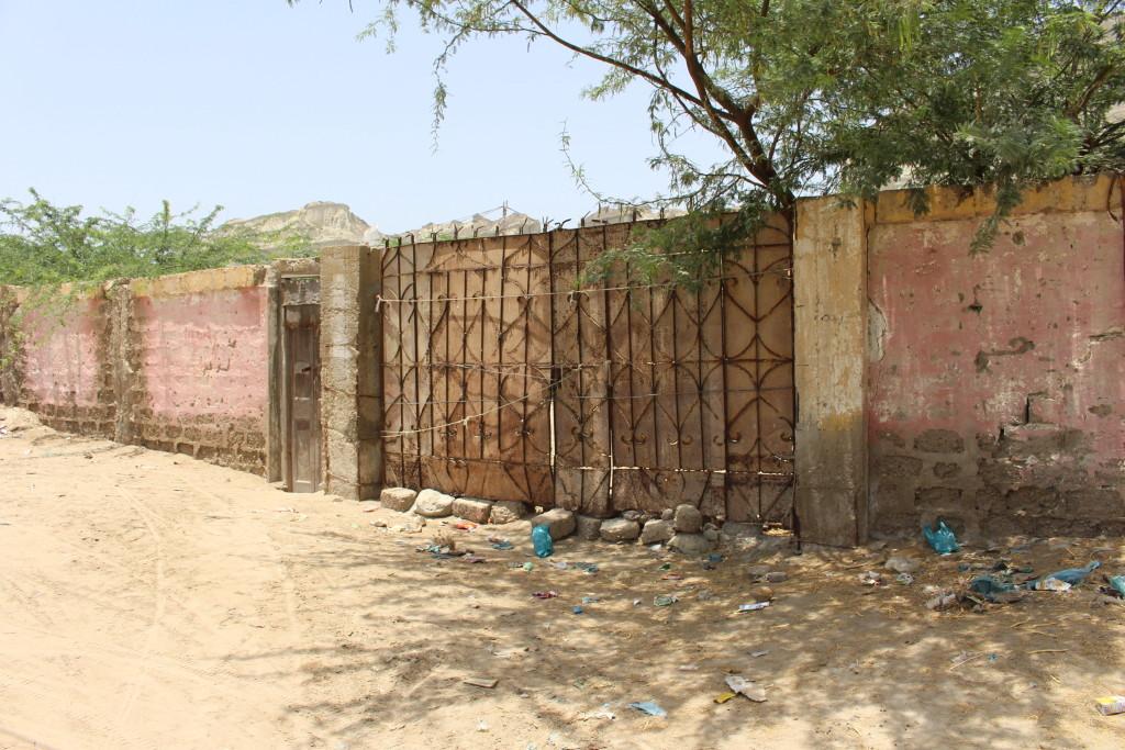 Main gate of the cinema