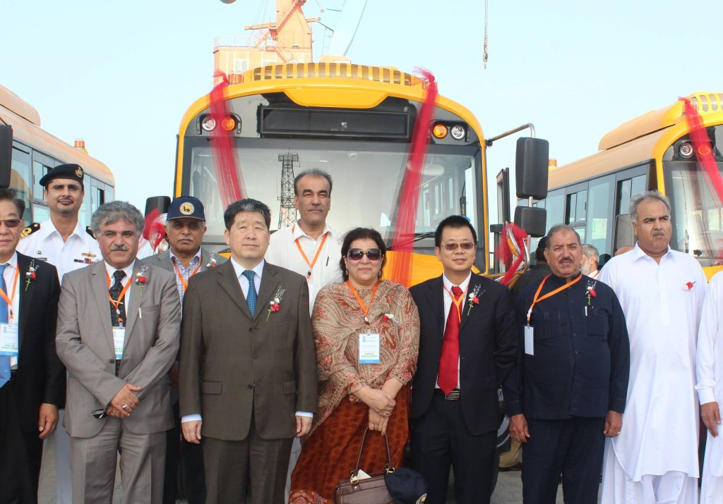 Chinese Consul General, GPA Chairman and other guests at the ceremony